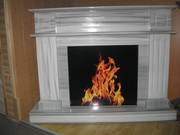 Marble fireplace Marmara